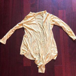 Sweaters - Yellow light weight cardigan